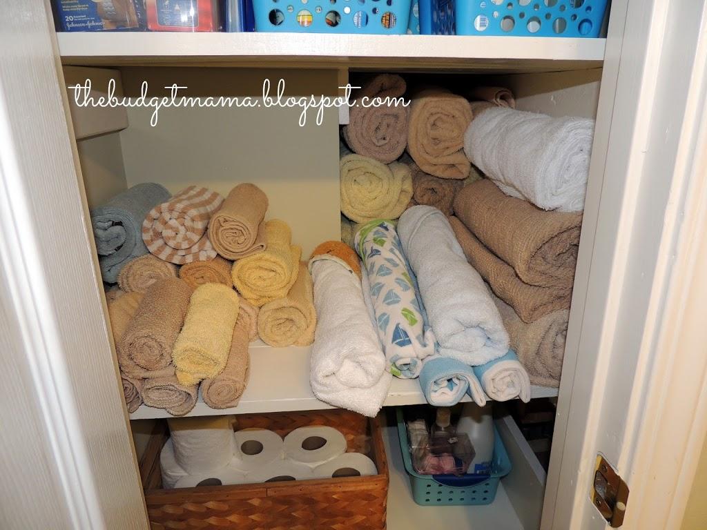 Linen closet organization jessi fearon