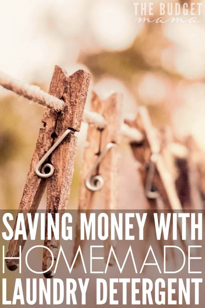We have saved over a $1,000 by switching from store bought detergents to homemade laundry detergent. It is pennies on the dollar and works incredibly well.