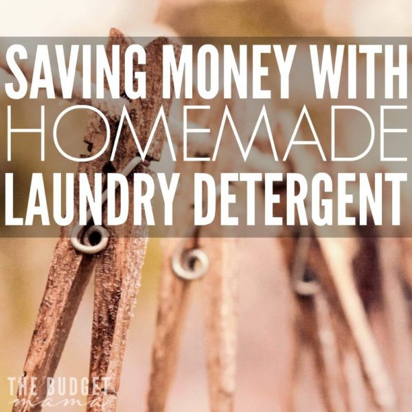 Saving with Homemade Laundry Detergent
