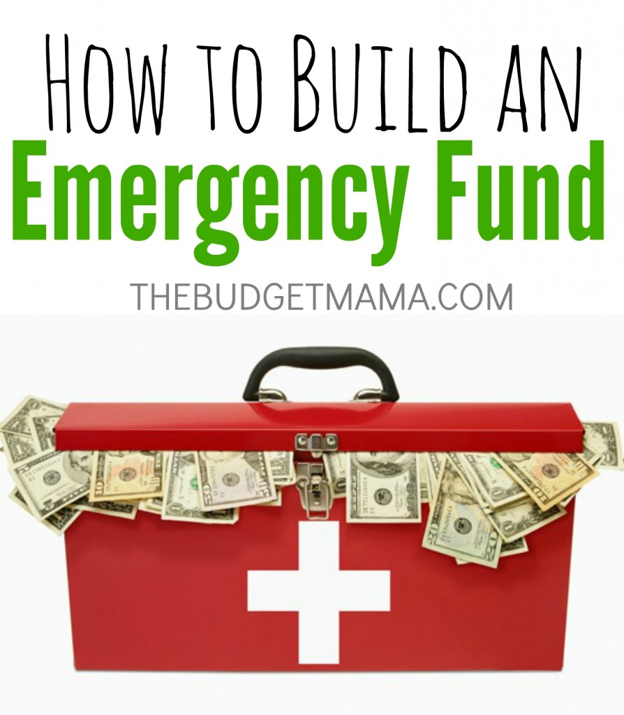 How to Build an Emergency Fund. How we saved a $1000 in 5 months.