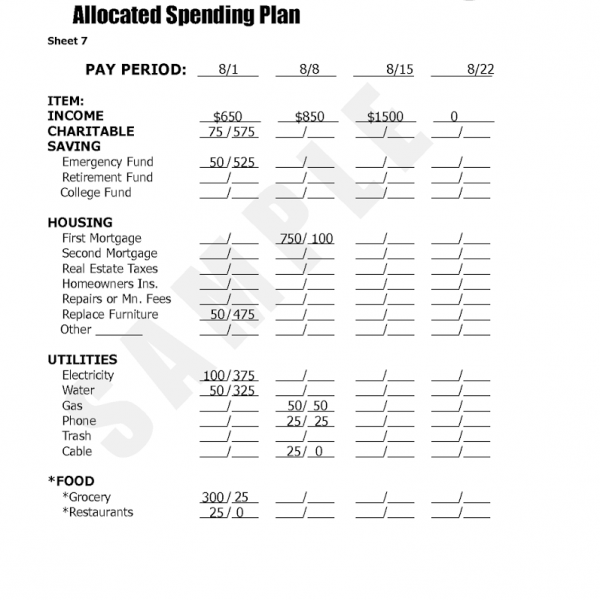 budget worksheet dave ramsey | Cleverwraps