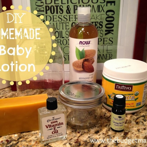 DIY Homemade Baby Lotion