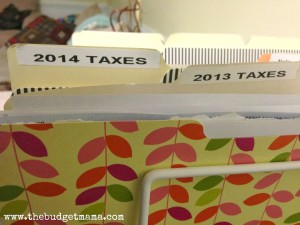 Tax-File-Organization