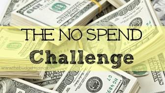 The No Spend Challenge
