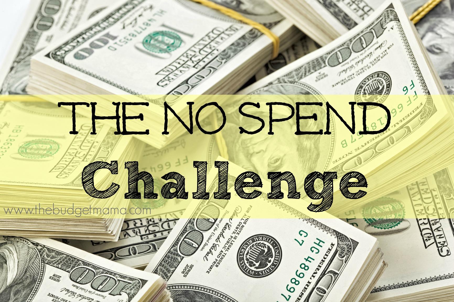 July No Spend Challenge – Update #4