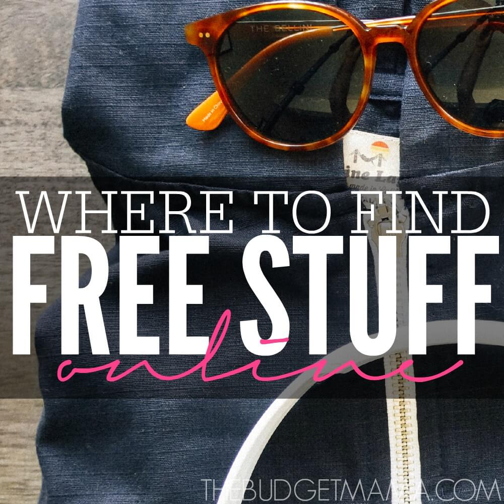 Where to Find Free Stuff Online