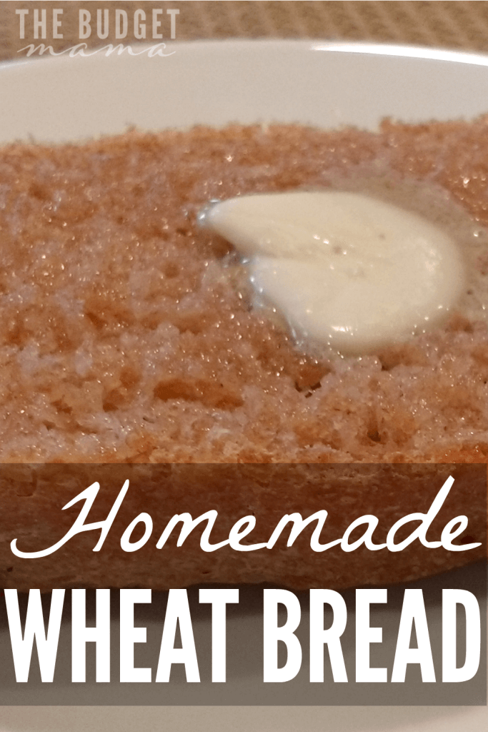 This homemade wheat bread recipe is our family's favorite and is super easy and delicious! Perfect for sandwiches, toast, and homemade bread crumbs.