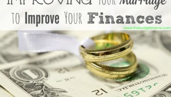 Improving Your Marriage to Improve Your Finances