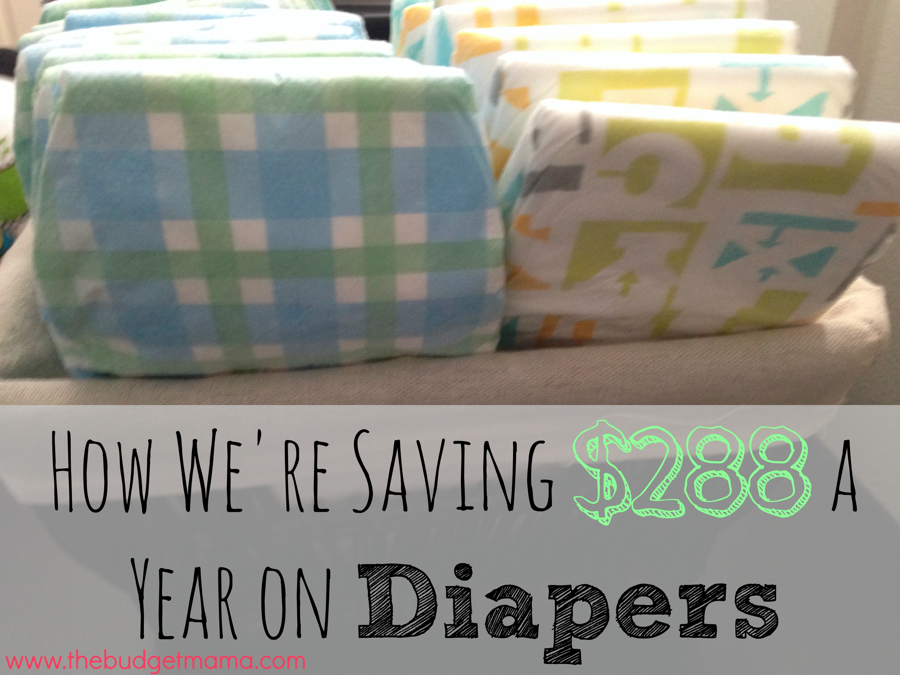 How we re saving 288 a year on diapers the budget mama