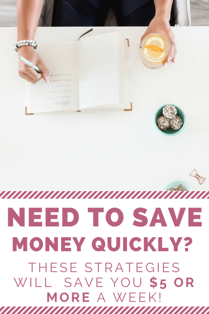 Need to save money quickly? These tips will help you build up your savings with very little thought!