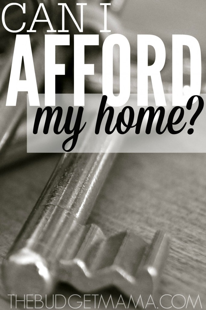 Can I afford my home is a question that does not get asked nearly enough. This simple test will help you determine if you can afford your home.
