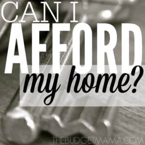 Can I Afford My Home SQ