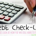 Debt Check-Up An Honest Look At How Far We Still Have To Go