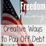 Let Financial Freedom Ring. Creative Ways to Pay Off Debt