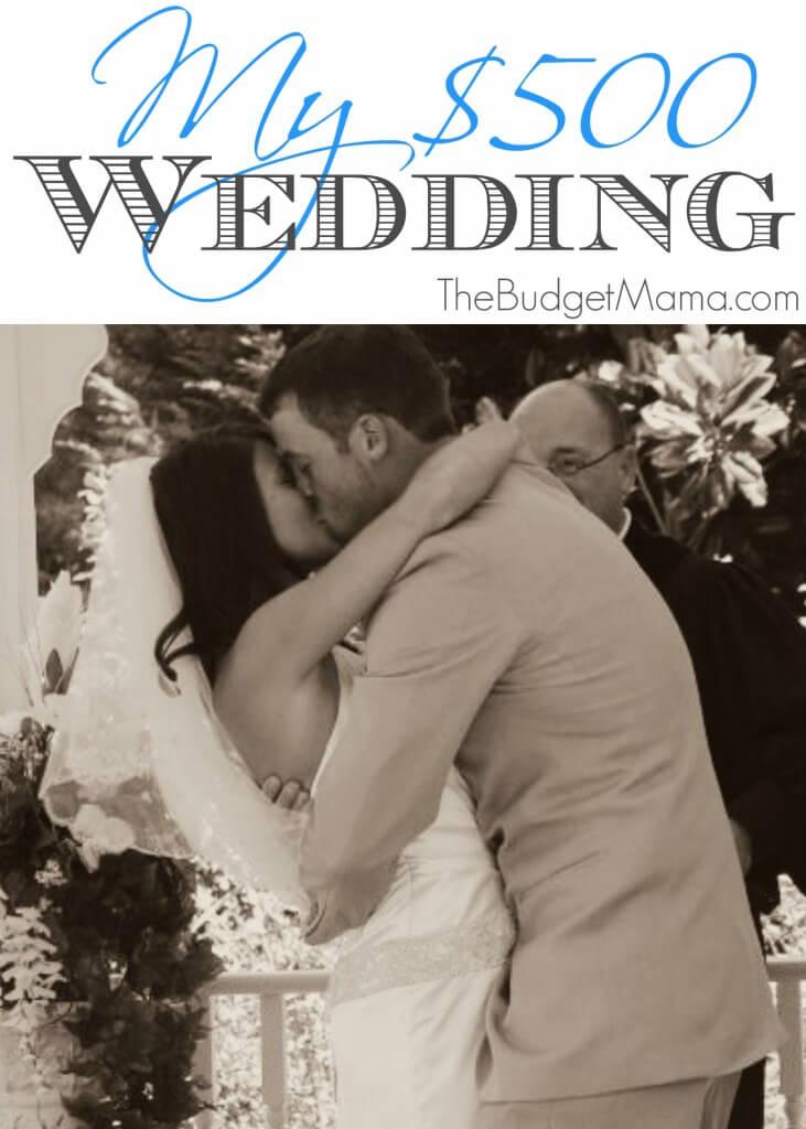 My $500 Wedding