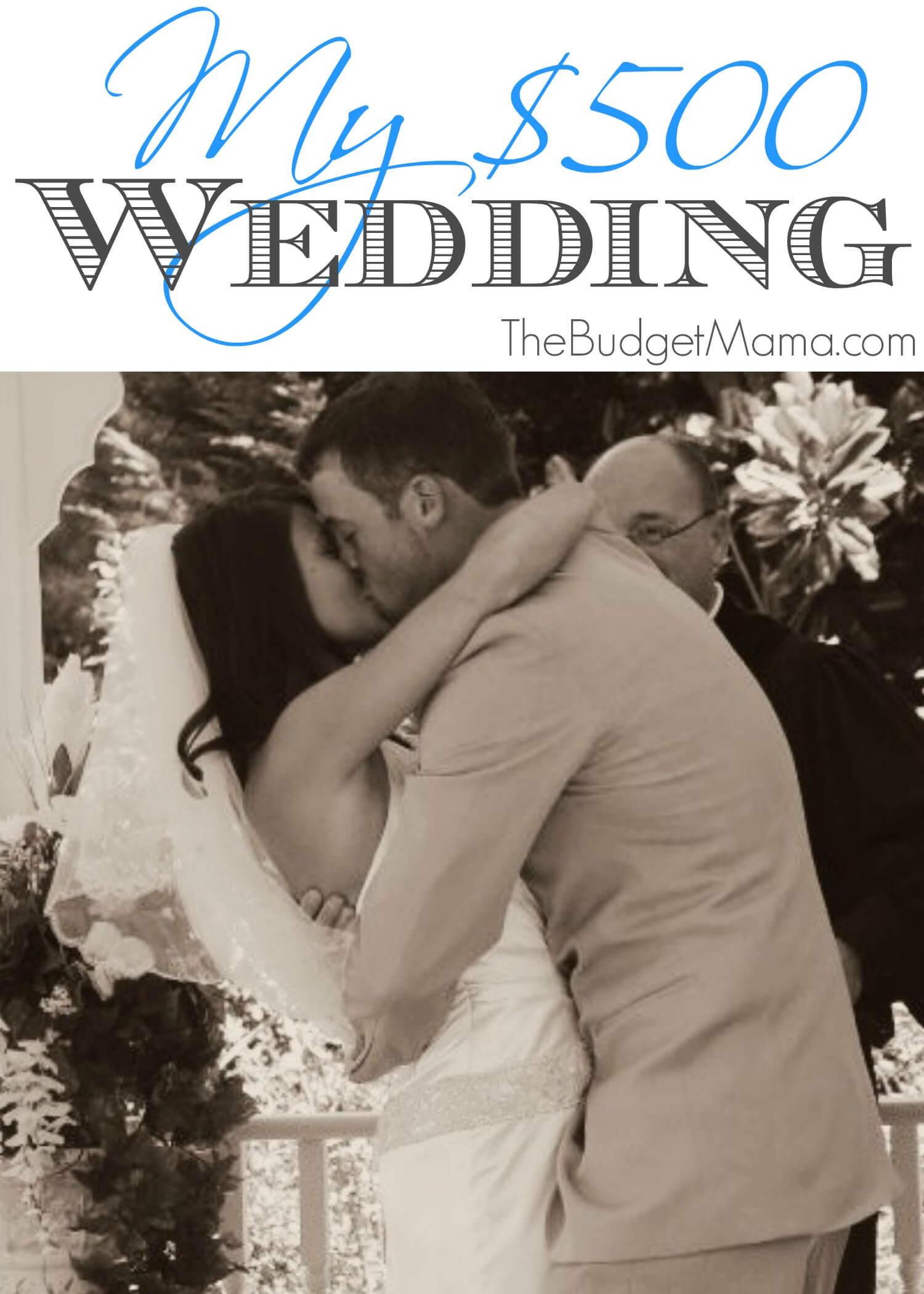wedding ideas for under 500 dollars