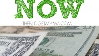 7 Methods for Saving Money NOW