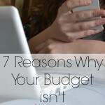 7 Reasons Why Your Budget is not Working