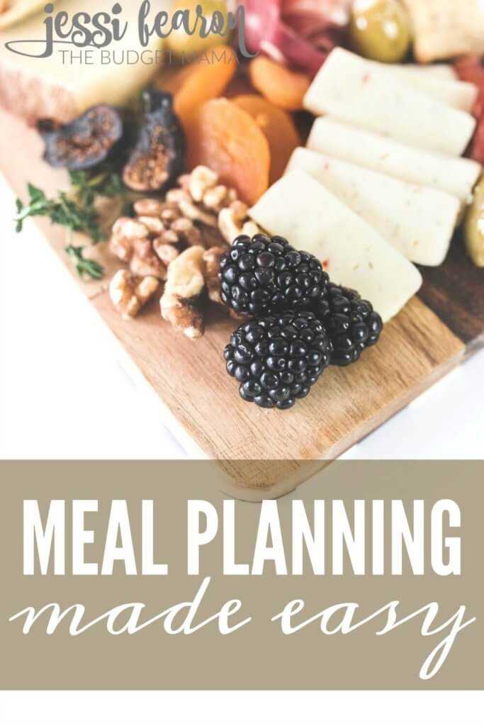 Meal Planning - The Easy Way! Get dinner on the table in less time with less fuss with this super easy-to-use tool.