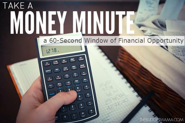Take a Money Minute