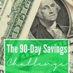 The 90-Day Savings Challenge