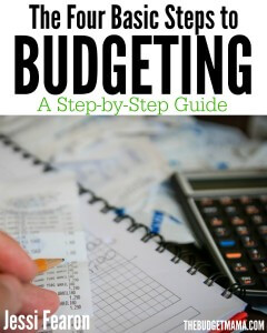 The Four Basic Steps to Budgeting