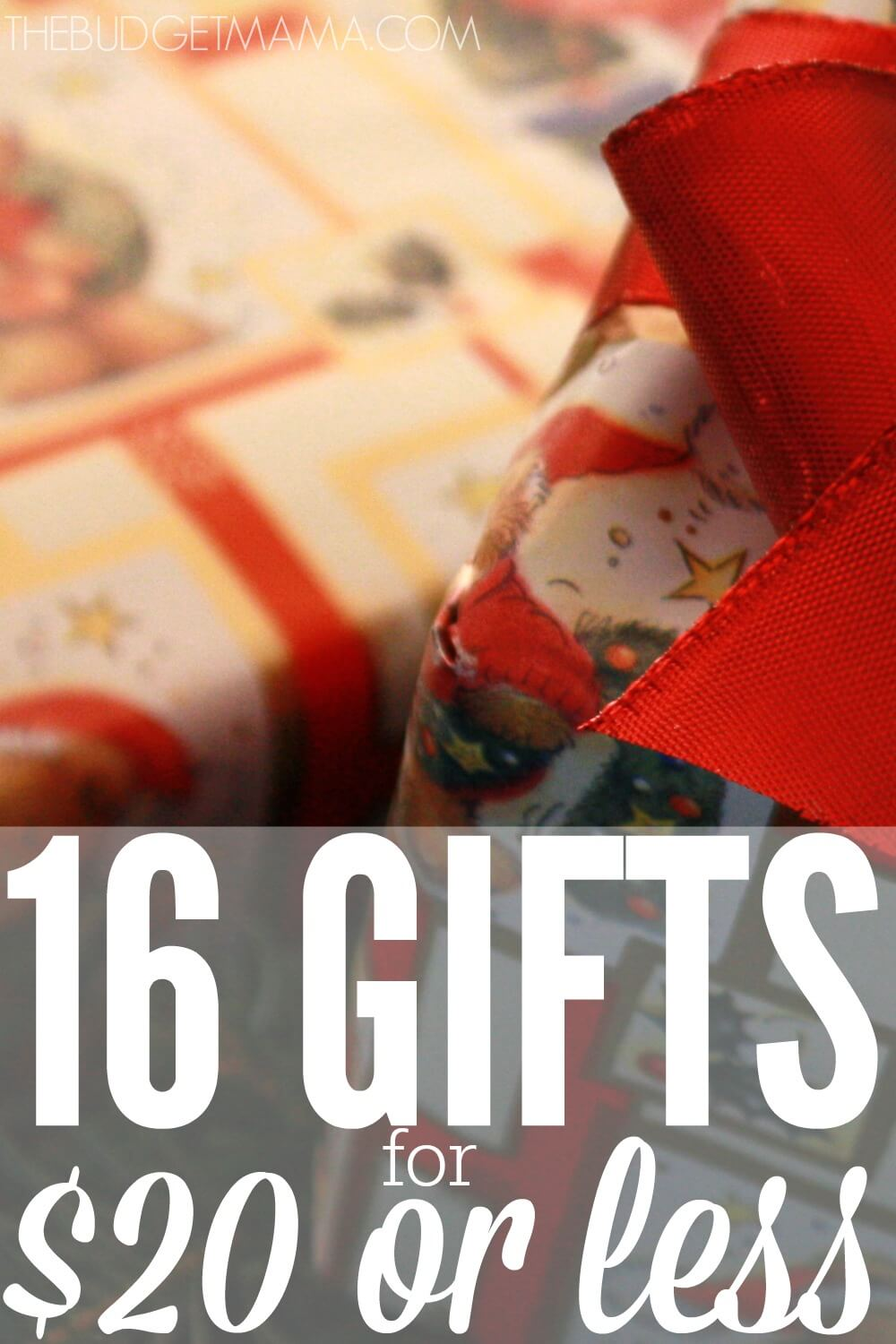 16 Gifts for $20 or Less