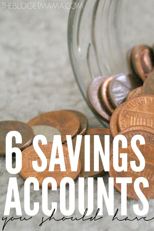 6 Savings Accounts You Should Have