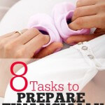 8 Tasks to Prepare Financially for Your Baby