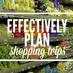 How to Effectively Plan Shopping Trips