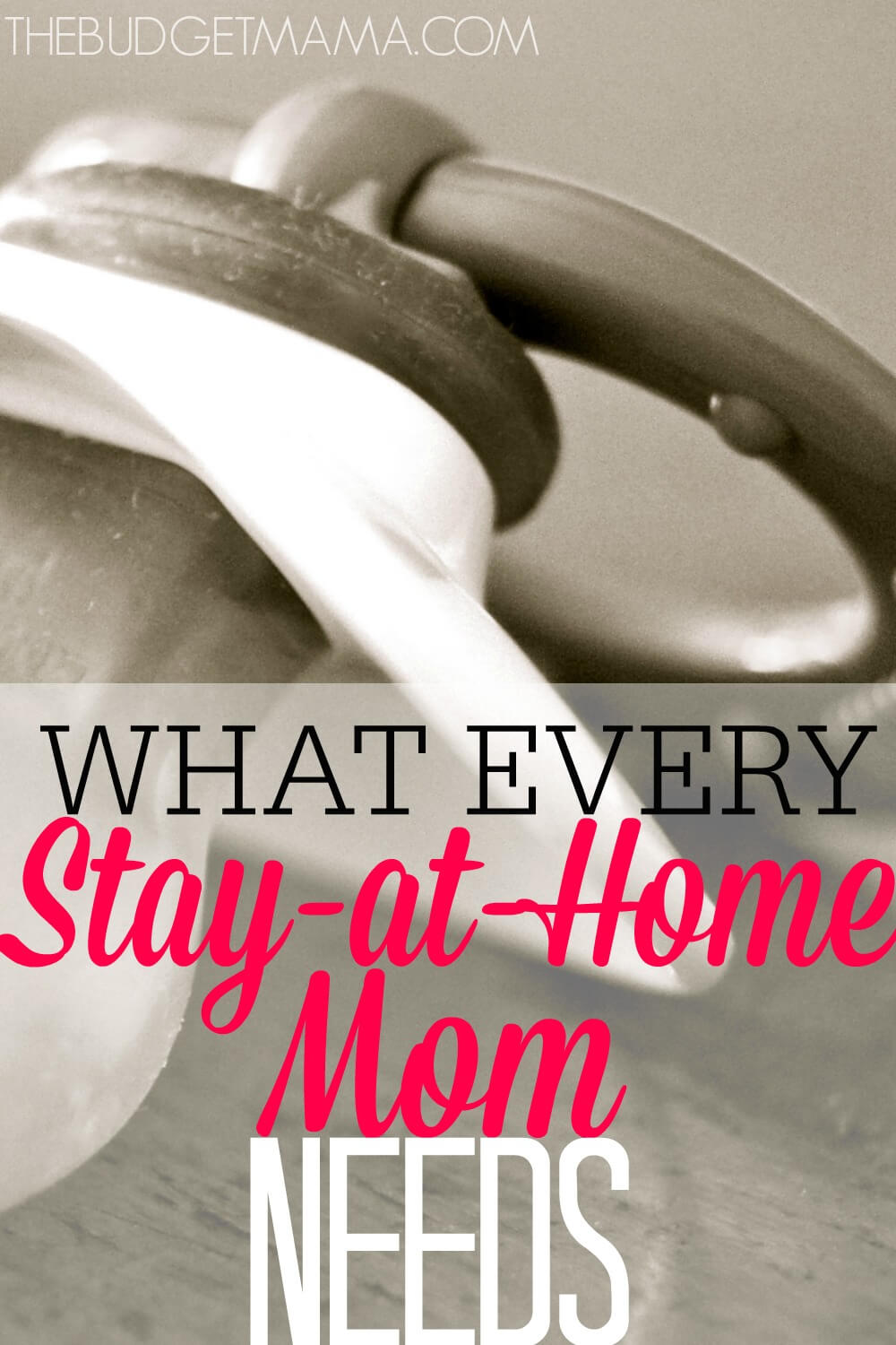 This isn't your usual Mommy advice, this is hard-core stuff. If you're a Stay-at-Home Mom you NEED this now.