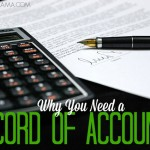 Why You Need a Record of Accounts