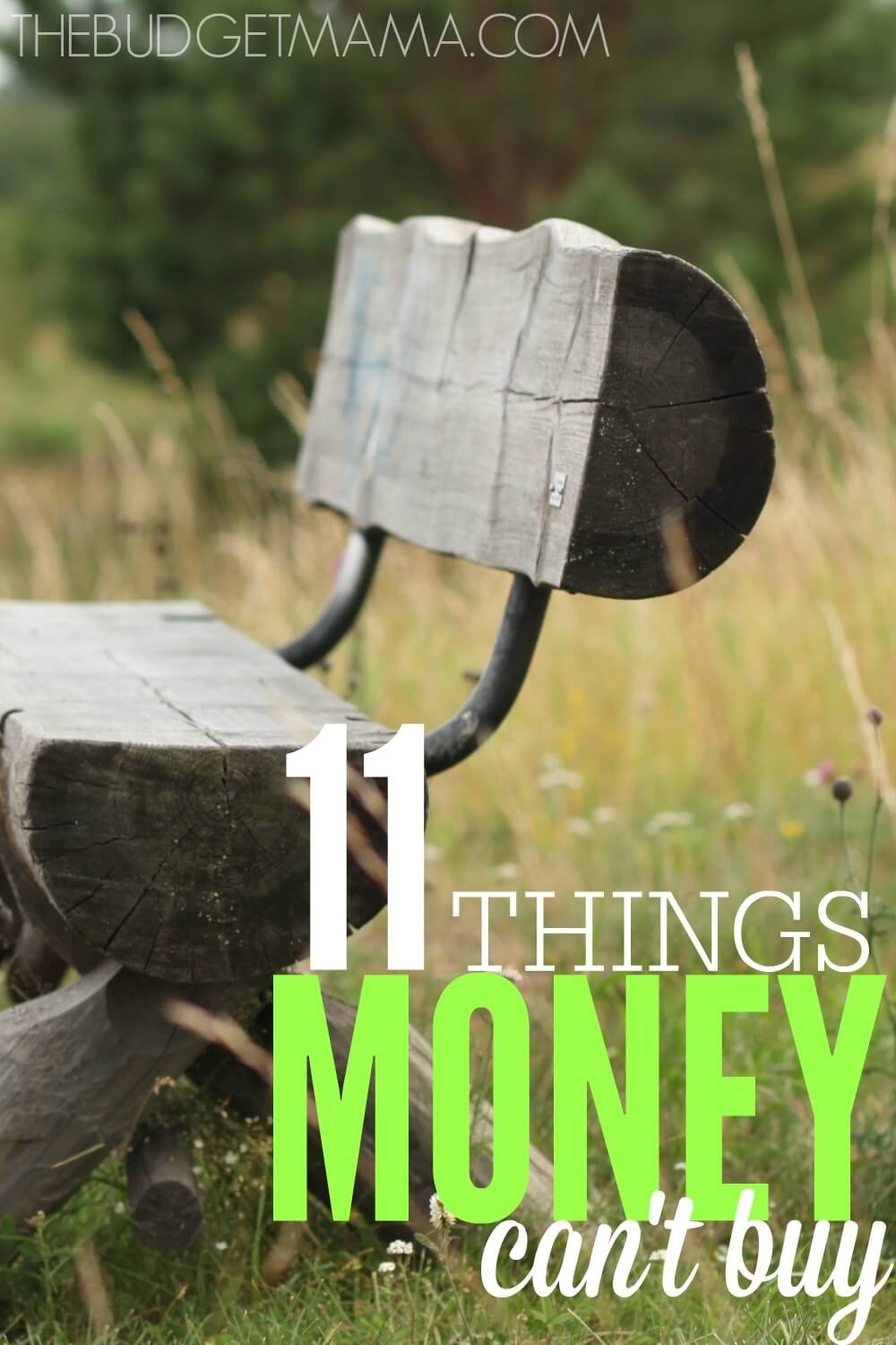 11 Things Money Can\'t Buy - Jessi Fearon