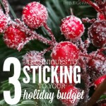 3 Techniques to Sticking to Your Holiday Budget