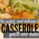 Chicken, Rice, and Broccoli Casserole