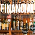 Preparing now, will ensure that you avoid the dreaded financial hangover come January. These four strategies will make avoiding a financial hangover easier.