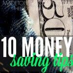 10 Money Saving Tips SQ