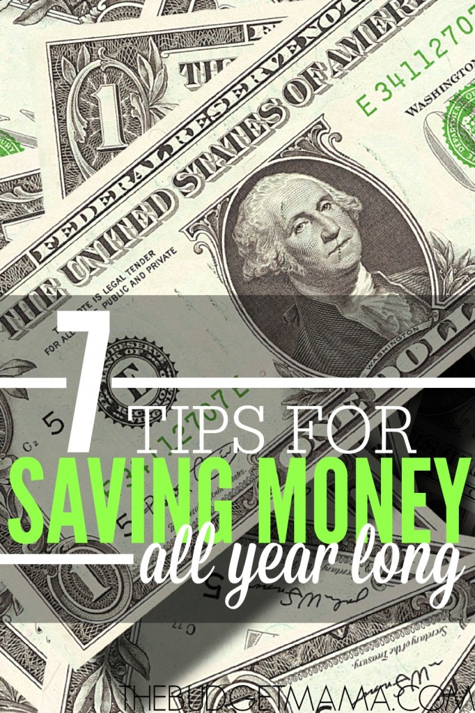 These 7 tips will help you save money all year long. Make your money work for you.
