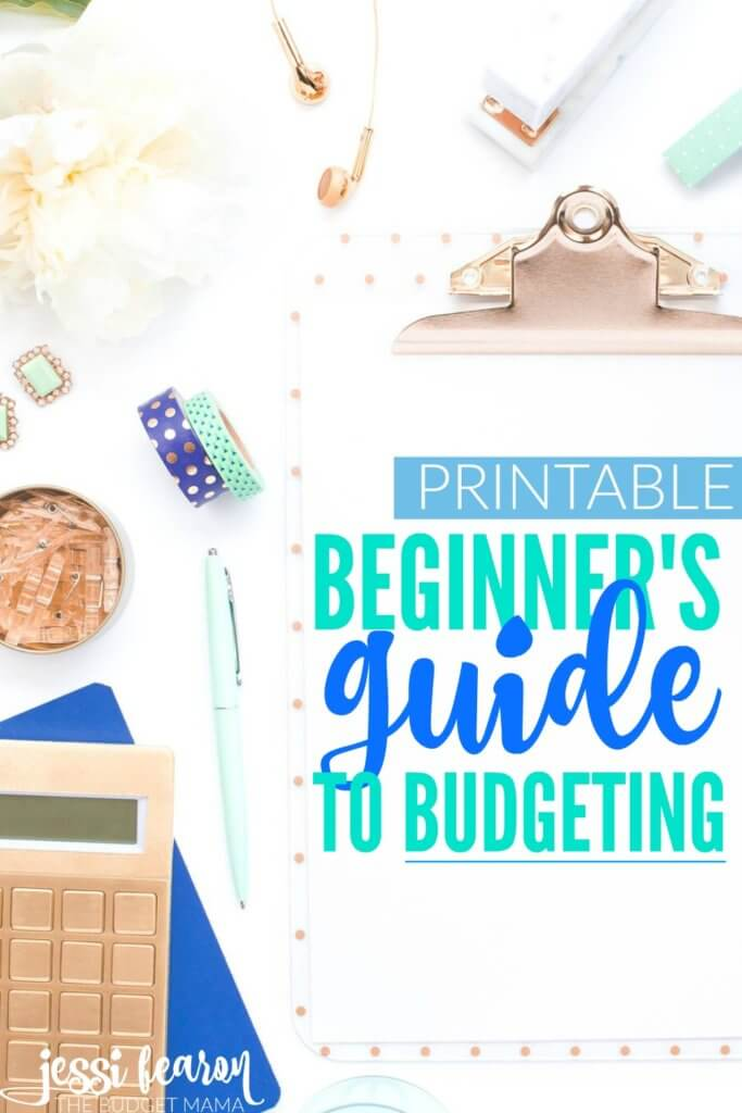 FREE Printable Beginner's Guide to Budget!; This beginner's guide to budgeting will help you figure out how to budget your money and how to start telling your money where to go every month.