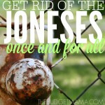 Get Rid of The Joneses Once and for All SQ
