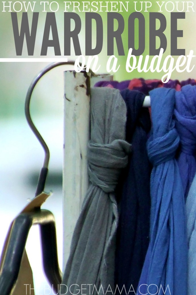 Find the new you in your closet. Freshen up your wardrobe with these five tips that will help keep you from going broke while updating your wardrobe.