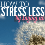How to Stress Less by Saying No SQ
