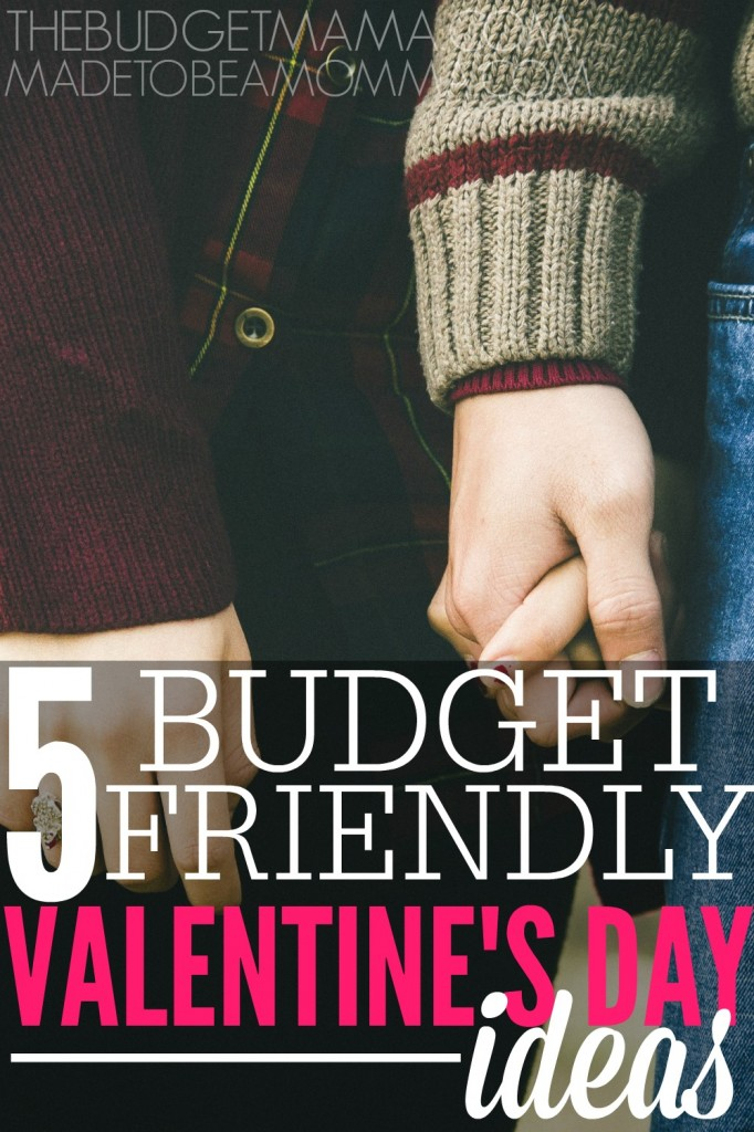5 Budget Friendly Valentine's Day Ideas   These unique ideas will help you stretch your budget further!