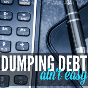 Dumping Debt Ain't Easy SQ
