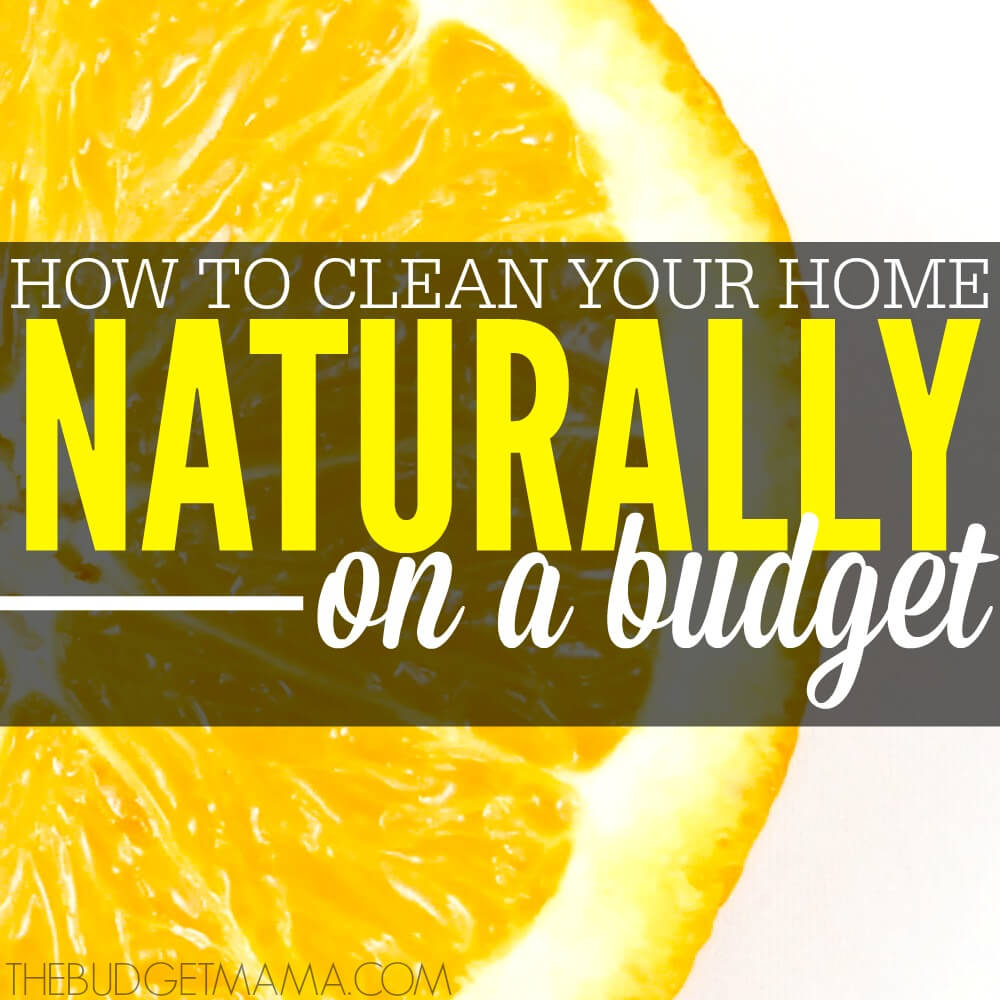 How to Clean Your Home Naturally on a Budget