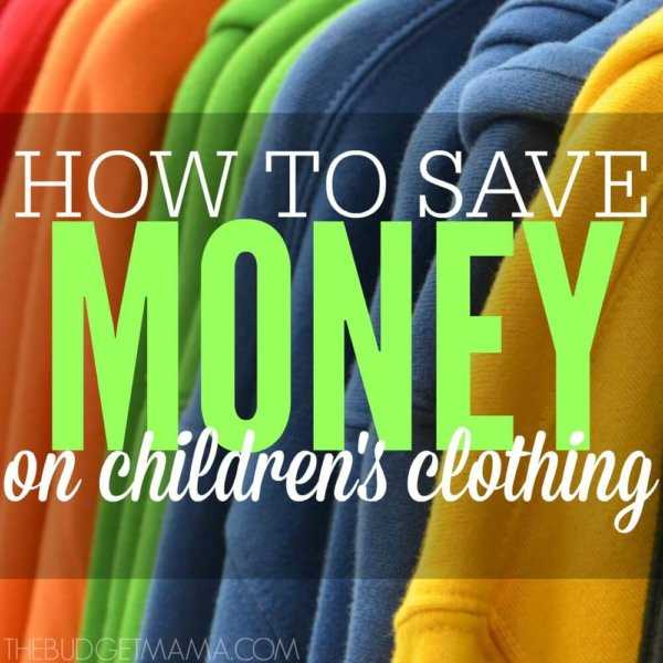 How to Save Money on Children's Clothes