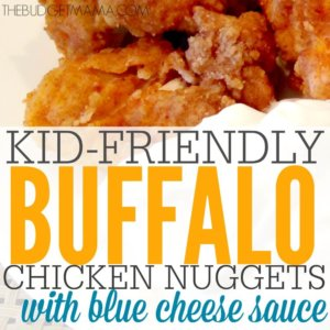 Oven Baked Buffalo Chicken Nuggets SQ