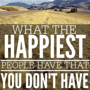 What the Happiest People Have that You Don't Have SQ