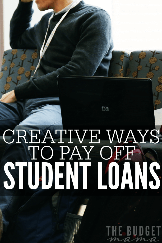 These creative ways to pay off student loans will help you add more money to your debt pay off plan without eating too much into your budget.
