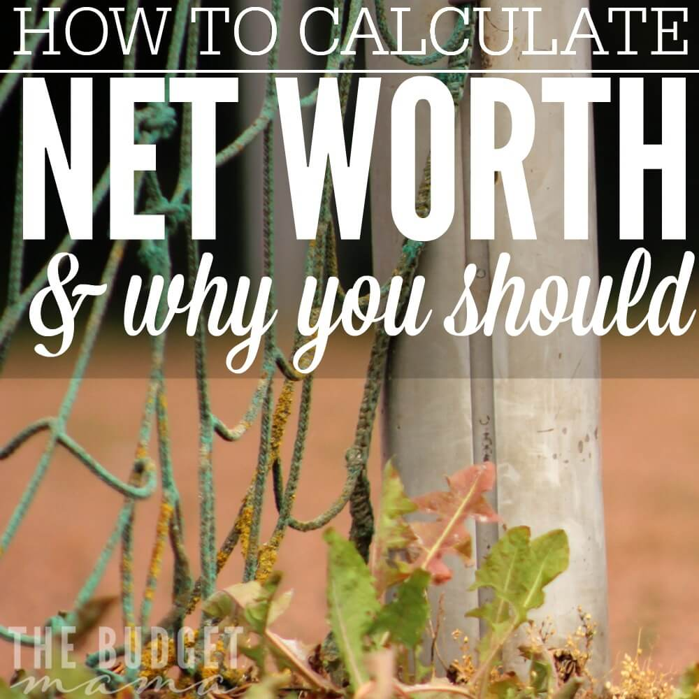 Do you know how to calculate net worth and why it's important? If not, this worksheet will help you calculate your net worth and give you a money snapshot.